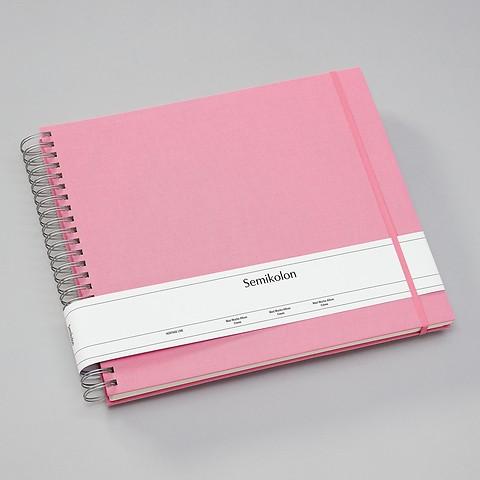 Maxi Mucho Album, cream Pages, flamingo
