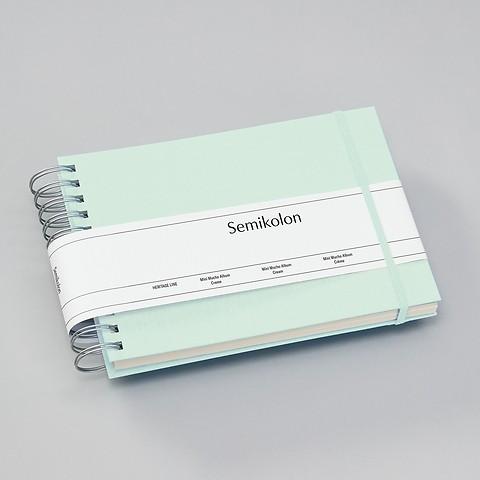 Mini Mucho Album, cream Pages, moss