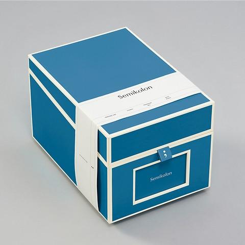 Photograph Box, azzurro