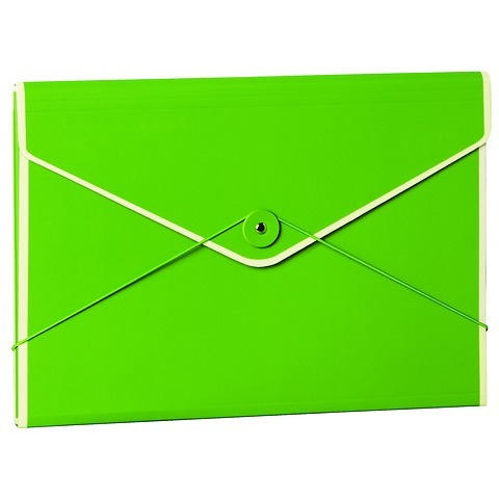 Envelope Folder with elastic closure band